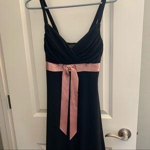 Black Dress Lace Bottom